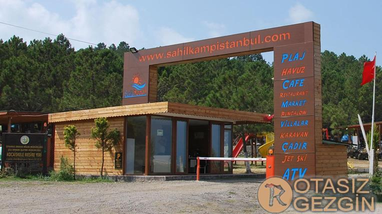 6-Şile Sahil Köy Camping Kamp Alanı