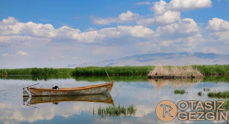 Afyon Eber Gölü Kamp Yeri