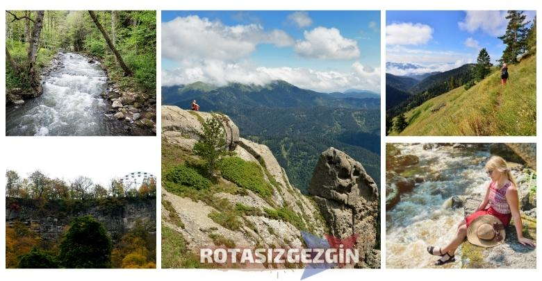 Gürcistan Borjomi Kharagauli Milli Parkı