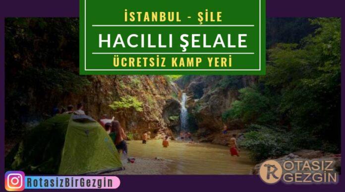 Hacıllı-Şelalesi-Kamp-Alanı-İstanbul-Ücretsiz-Kamp-Alanları