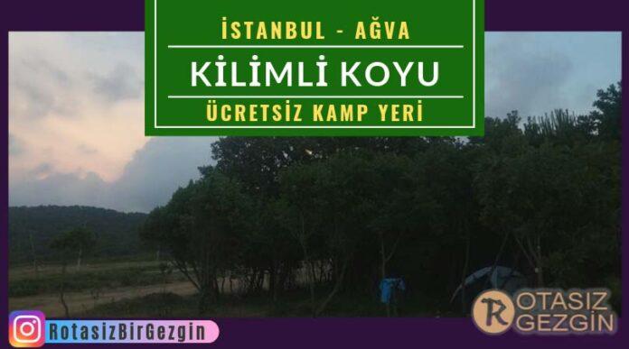 Kilimli-Koyu-Kamp-Alanı-İstanbul-Ücretsiz-Kamp-Alanları