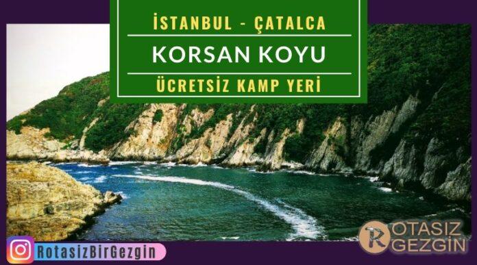 İstanbul-Çatalca-Korsan-Koyu-Ücretsiz-Kamp-Yeri