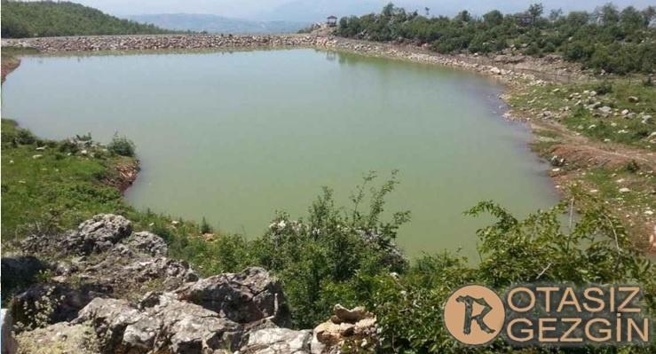Amasya Ücretsiz Kamp Alanları Gürsu Göleti