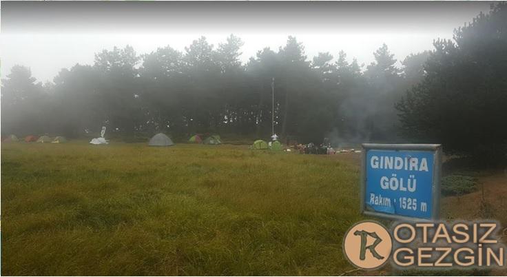 Amasya Ücretsiz Kamp Alanları Gındıra Gölü