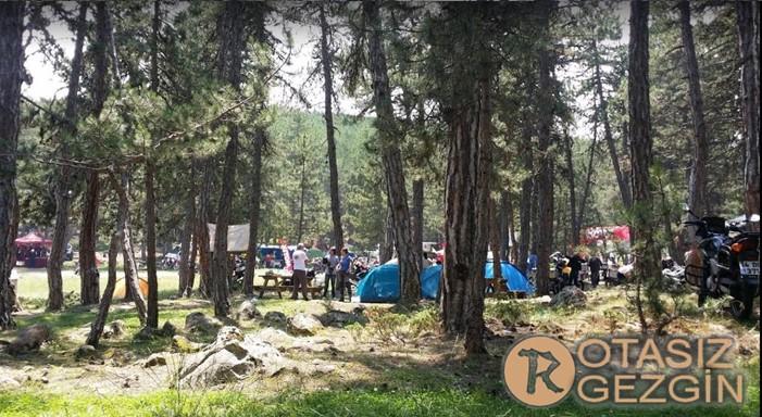 Ankara Alucdaği Milli Parki Kamp Alani