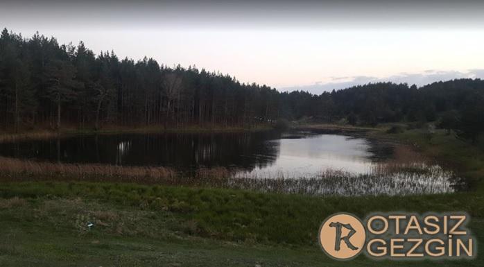 Ankara Işık Dağı Karagöl Jeositi Kamp Yeri
