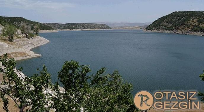 Ankara Kurtbogazi Baraji Kamp Alani