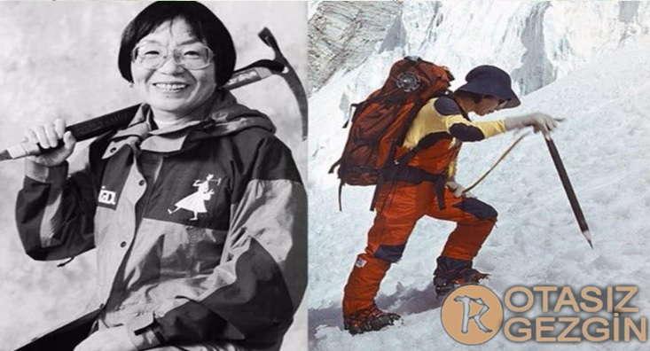 Everest Dagina ilk Tirmanan Kadin