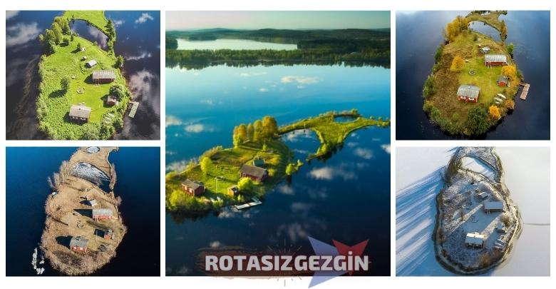 Finlandiya Kotisaari Adasi Dort Mevsim