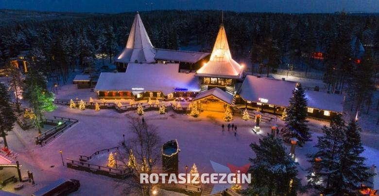 Finlandiya Kotisaari Adasi Santa Claus Village