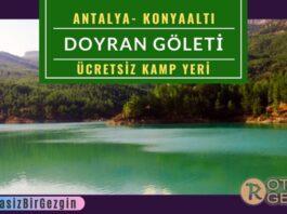 Doyran-Göleti-Kamp-Alanı-Antalya-Ücretsiz-Kamp-Alanları