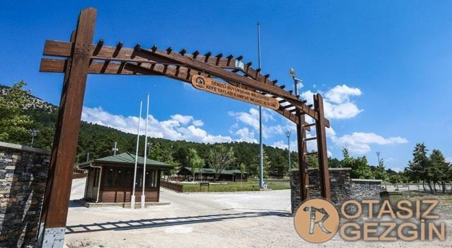 Denizli Yatağan Kefe Yaylası Kamp Alanı
