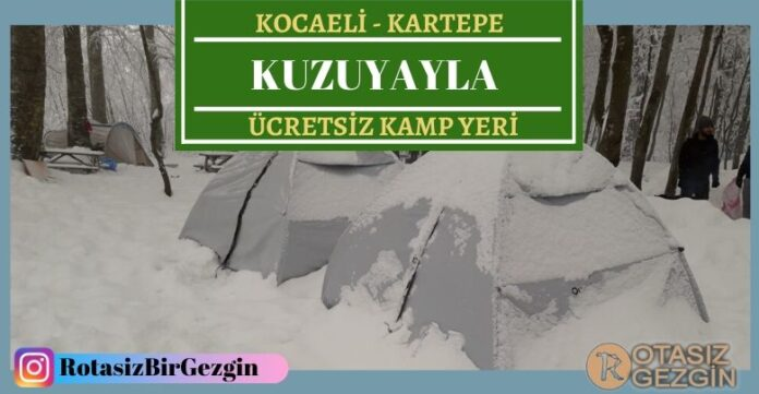 Kocaeli-Kartepe-Kuzuyayla-Ücretsiz-Kamp-Alanı