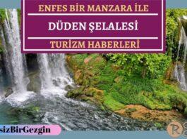 Antalya Düden Şelalesi Kendini Yeniledi