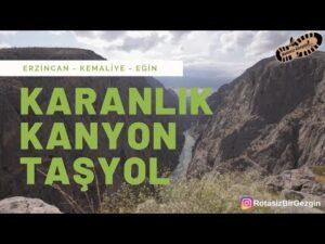 Erzincan – Kemaliye, Karanlık Kanyon, Taş Yol, Eğin Drone ve Kara Çekimi