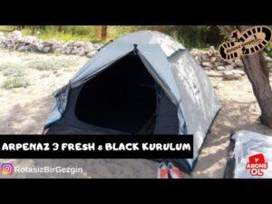 Milli Çadırımız Arpenaz 3 Fresh & Black Nasıl Kurulur