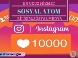 Sosyal Atom İle Instagram Fenomeni Olun