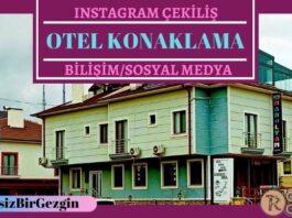 Instagram Çekiliş - Ağva Manolyam Hotel Konaklama