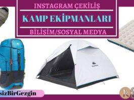 Instagram Çekiliş – Decathlon Kamp Ekipmanları