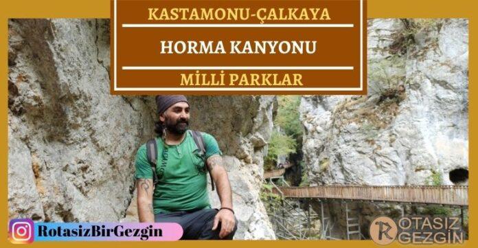 Kastamonu Küre Dağları Milli Parkı Horma Kanyonu