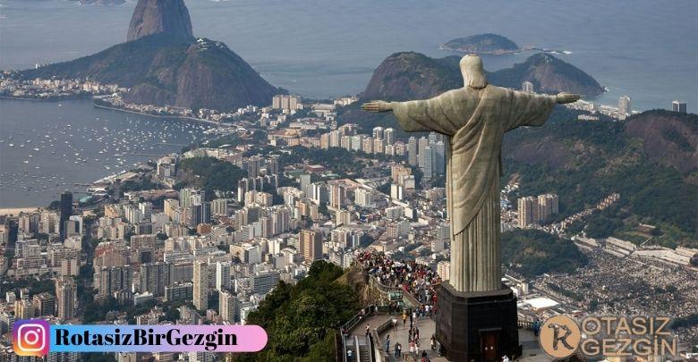 Christo Redentor Rio De Janeiro Brezilya