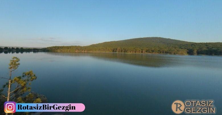 Eskişehir Büyükyayla Göleti Ücretsiz Kamp Alanı