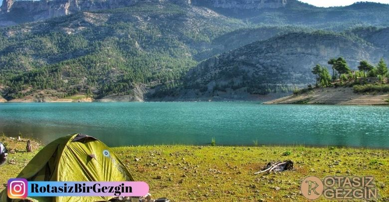 Eskişehir Gökçekaya Barajı Ücretsiz Kamp Alanı