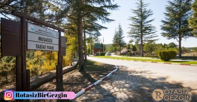 Eskişehir Musaözü Tabiat Parkı Ücretli Kamp Alanı