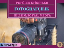 Instagram Popüler Fotoğrafçılık Etiketleri (Hashtagler)