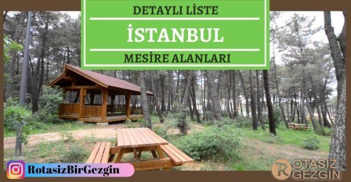 İstanbul Mesire Alanları Listesi – Hangisinde Kamp Yapılır