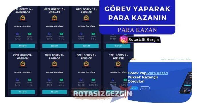 Görev Yaparak Para Kazan - Gorevdeyim Yorum Yap Para Kazan