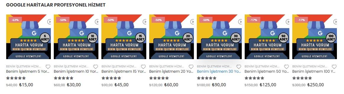 Google Benim İşletmem Yorum Satın Al